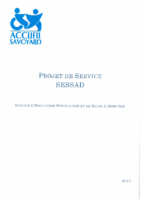 Projet de service  SESSAD