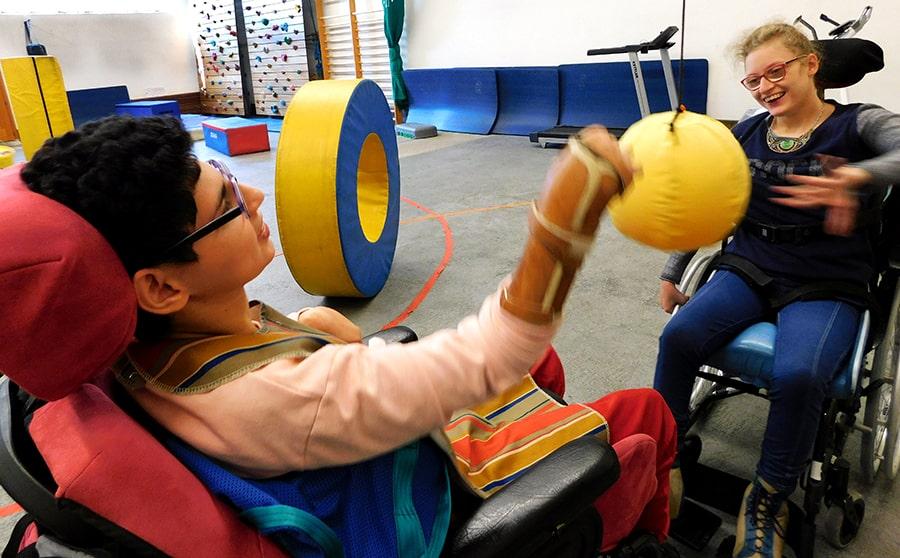 « Kiné-sport » au service des jeunes en situation de Handicap