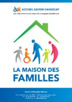 Plaquette présentation Maison familles