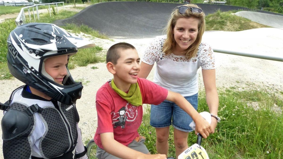 Rencontre avec le club de BMX de Montmélian