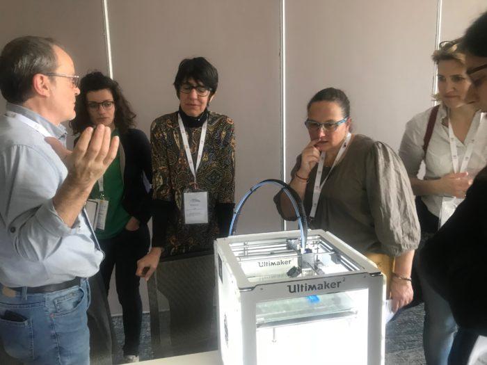 Colloque Enfant, handicap et santé numérique de R4P : ASH présente ses réalisation en impression 3D