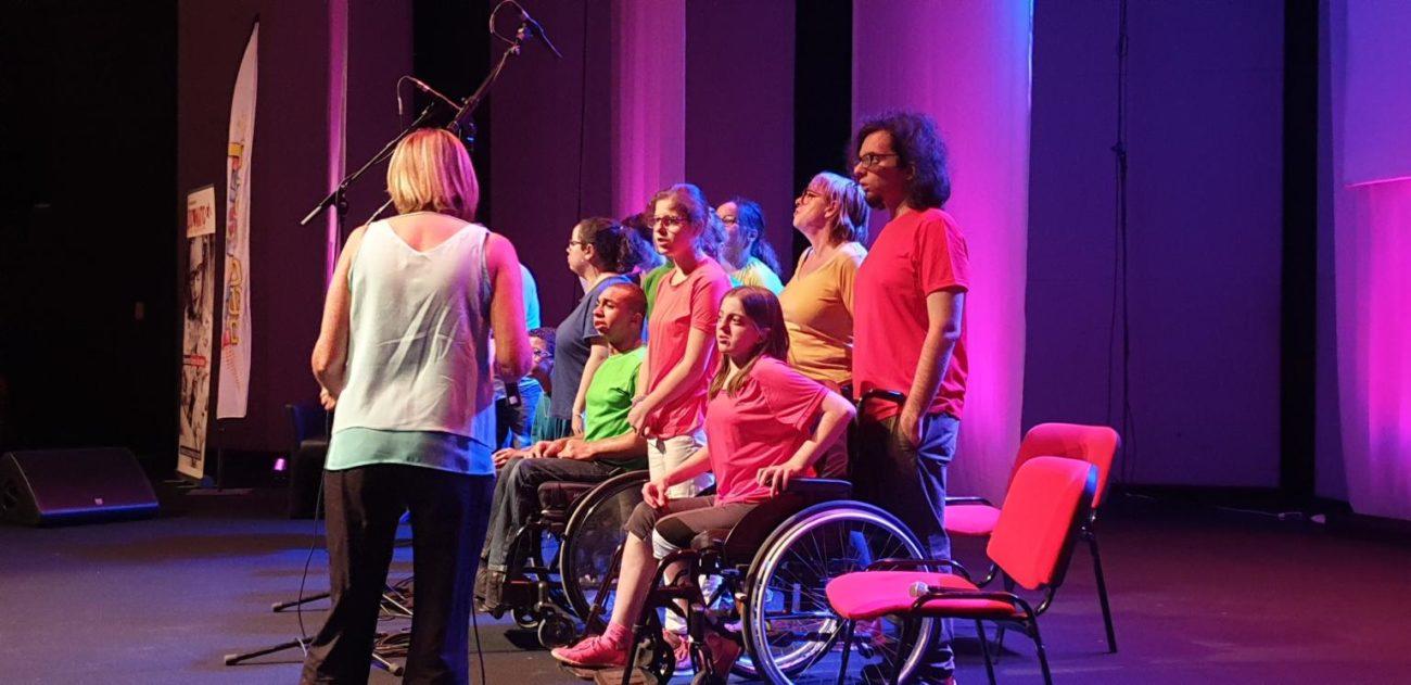 La chorale des vockeurs au festival REG'ARTS !