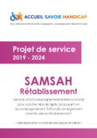 Téléchargez la synthèse du projet de service du SAMSAH Rétablissement (2019-2023)