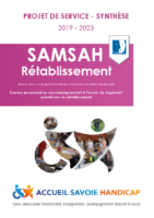 Synthèse – Projet de service SAMSAH Rétablissement 2019-2023