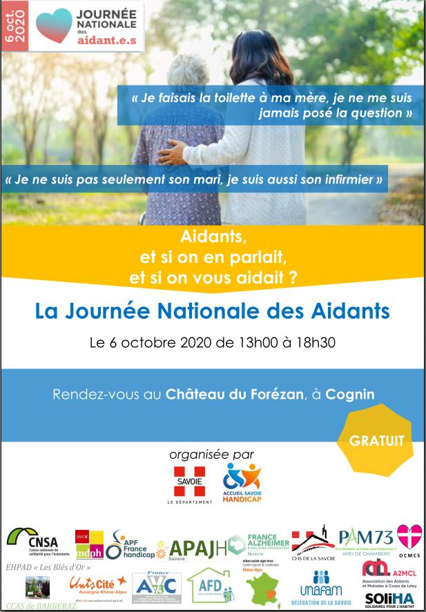 Journée Nationale des Aidants : ouverture des inscriptions !