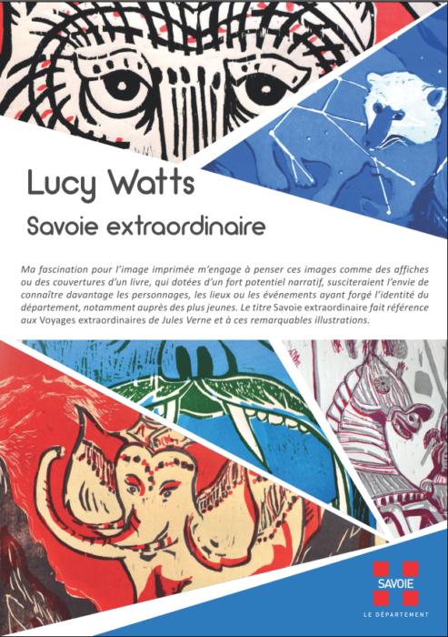 «Savoie extraordinaire», une exposition de Lucy Watts au CEM